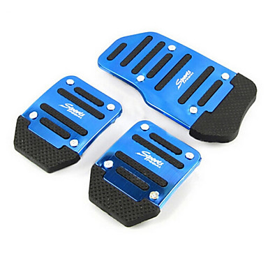 povoljno Automobil Pedale-pedale aluminija klizanja automobila papučica gasa papučice kočnice pogodne za ručno automobil (assorted boje)