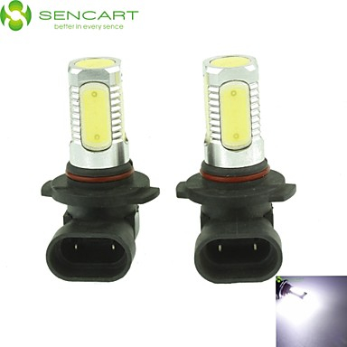 9006 HB4 10W 900Lm 5 x COB LED Cold White Light Polarity Free Car Foglight / Headlamp / Tail Light (12-24V)