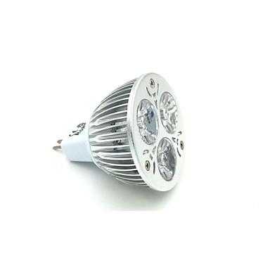 GU5.3(MR16) LED Spotlight MR16 3 High Power LED 240-300 lm Natural White 5000 K DC 12 V