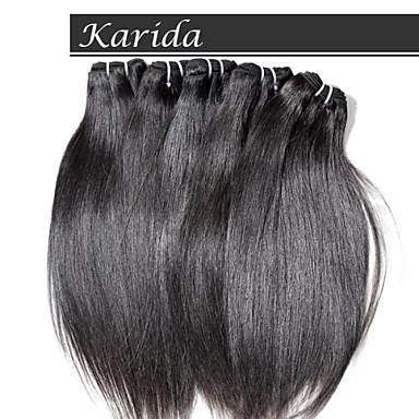 3 PSC / 많은 인도 머리 처리되지 않은 처녀 인도 레미 헤어, karida 머리 처리되지 않은 최고 품질의 인도 머리