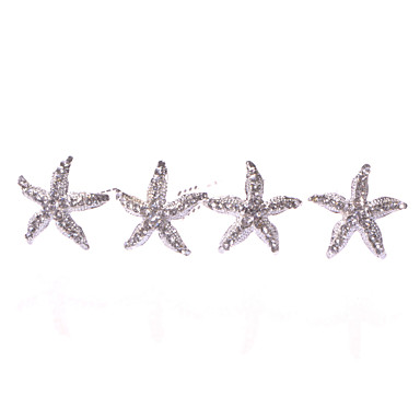 Alloy Headwear Hair Pin with Floral 1pc Wedding Special Occasion Casual Headpiece