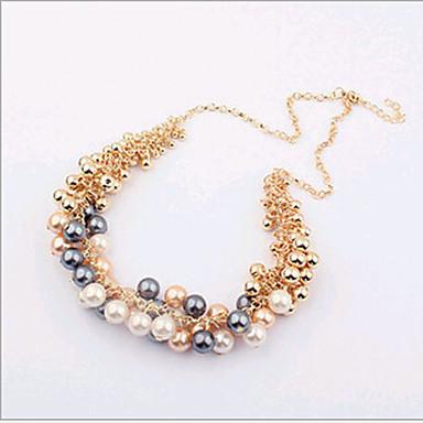 Colliers ras du cou - en Alliage/Imitation de perle - Soirée