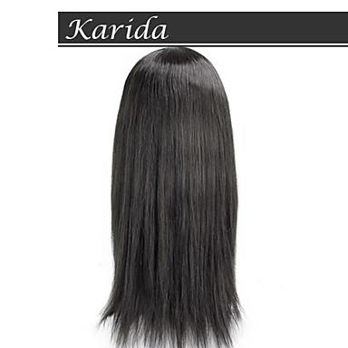 14-26inch tanie włosów ludzkich peruk dla czarnych kobiet