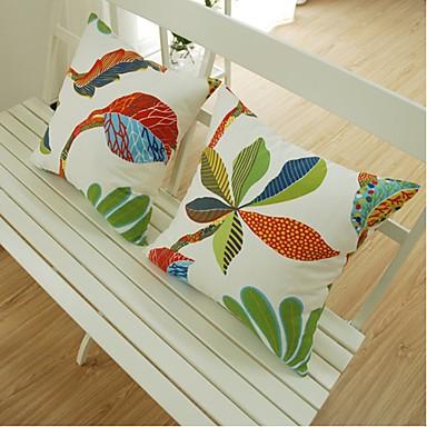 Coton Taie d'oreiller,Fleur Moderne/Contemporain