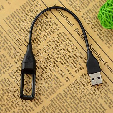 portable USB câble de chargement pour Fitbit flex bracelet de bracelet sans fil - noir (22,2cm)
