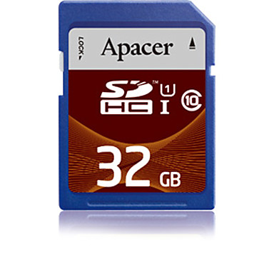 Apacer - UHS-I U1 - SD/SDHC/SDXC - Class10 - 32 GB - MB / S