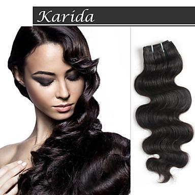 смешать длины девственной наращивание волос Remy индейца, объемная волна индийский человек волосы сотка