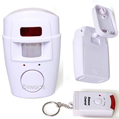 Detektor ruchu alarm czujnika IR zdalnego sterowania na podczerwień bezpieczeństwa w domu 80761