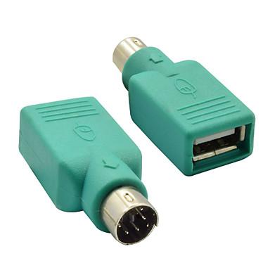 ps / 2 férfi, hogy USB 2.0 anya adapter átalakító egér&billentyűzet