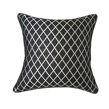 Creative Super Quality Black/Silver Diamond Pillowcase / Cushion Cover 18