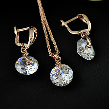 Women's Others Jewelry Set Earrings / Necklace - Regular White For Party / Gift / Daily