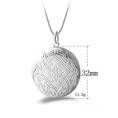 Pendants N/A Round Shape Silver 1