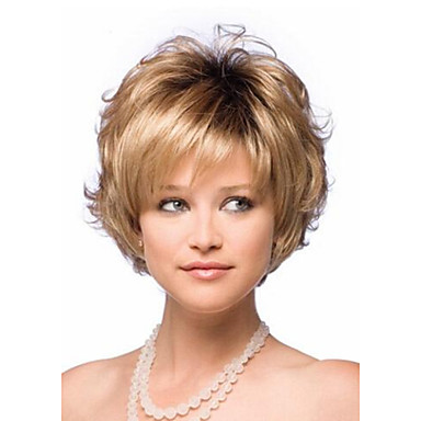 Women's Synthetic Wig Short Curly Halloween Wig Carnival Wig Costume Wig