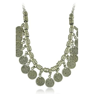 új cigány érme nyilatkozat vintage nyaklánc klasszikus női stílusban
