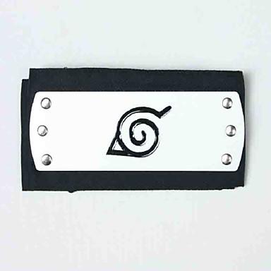 Smykker Hodeplagg Inspirert av Naruto Naruto Uzumaki Anime Cosplay-tilbehør Hodeplagg Terylene Legering Herre Varmt