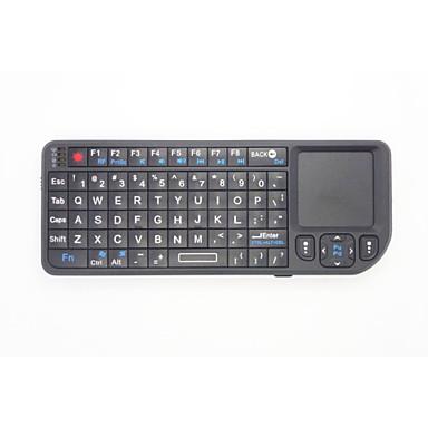 2 in 1 Mini handtellergroße 2.4G Wireless Tastatur und Maus Combo mit Touchpad für Google Android Fernsehkasten Smart PC