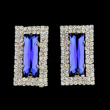 Kolczyki na sztyft Kryształ Modny Europejski Imitacja pereł Kryształ górski Pozłacane 18K złoty sztuczna Diament Austria CrystalWhite