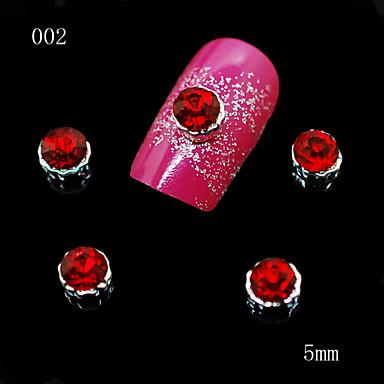 10 Nail Smykker Andre dekorasjoner Frukt Blomst Abstrakt Klassisk Tegneserie Smuk Bryllup Punk Daglig Frukt Blomst Abstrakt Klassisk