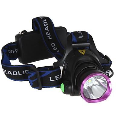 Kerékpár világítás LED 2000 Lumen 3 Mód 2 x 18650 elemek Újratölthető Szuper könnyű mert Kempingezés/Túrázás/Barlangászat Kerékpározás