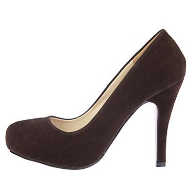28db621dcedff ... Daim Printemps Aiguille Chaussures Evénement amp  Habillé 03688944 Talon  Eté Noir Femme Bourgogne Soirée Violet ...