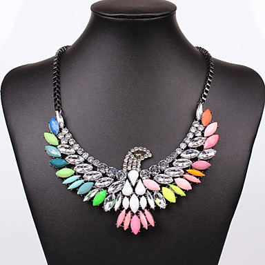 Women's Statement Necklace - Statement Screen Color Necklace For Party