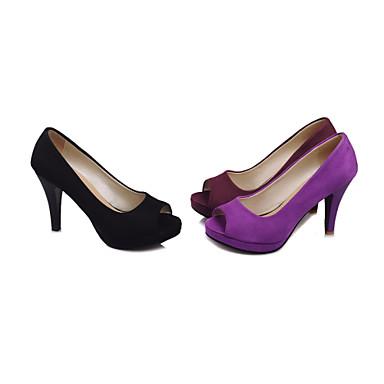 Bourgogne Automne Violet Chaussures Eté Noir Talon Femme Cône 03774164 Habillé Printemps Similicuir qfwnpn1gB