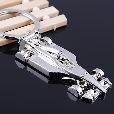 Inox Porte-clés Favors-1 Piece / Set Porte-clés Non personnalisé Blanc