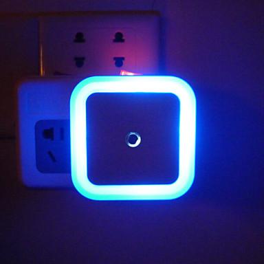 square Halo Lichtsteuerung kreative energiesparende LED-Nachtlicht Baby schlafen Sicherheits-Sensor-Licht (Farbe sortiert)