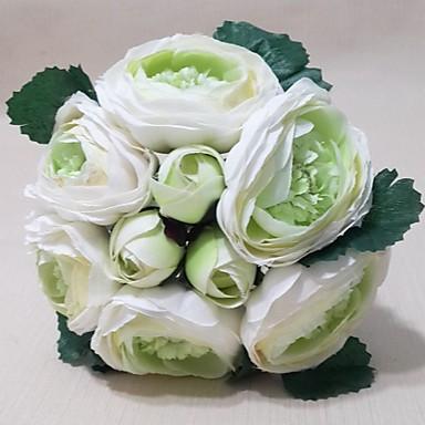 Свадебные цветы Букеты Свадьба Вечеринка / ужин Satin 7,09