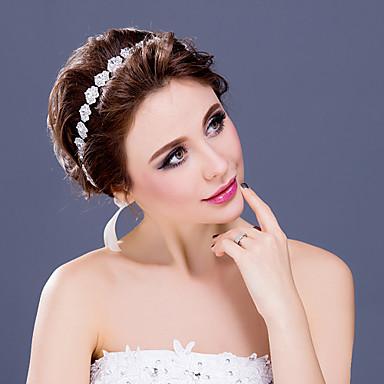 Rhinestone Alloy Tiaras Headbands Headpiece Classical Feminine Style