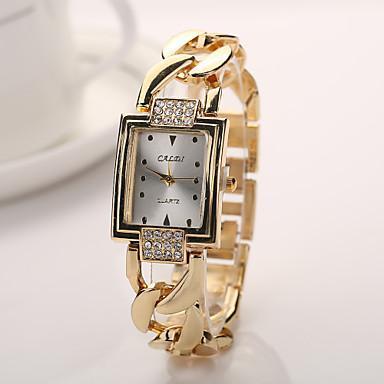 e67c412e5ca0 nueva llegada de acero anillo de oro de la marca de diamantes de cristal reloj  de