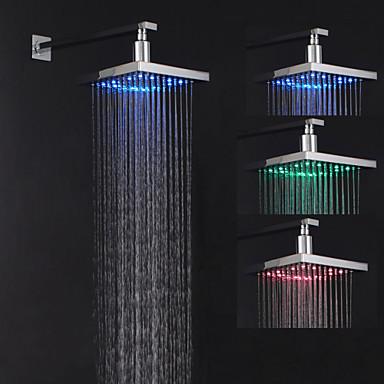 ร่วมสมัย ฝักบัวแบบน้ำตก มีสี ลักษณะ - น้ำตก / LED, ฝักบัวอาบน้ำ