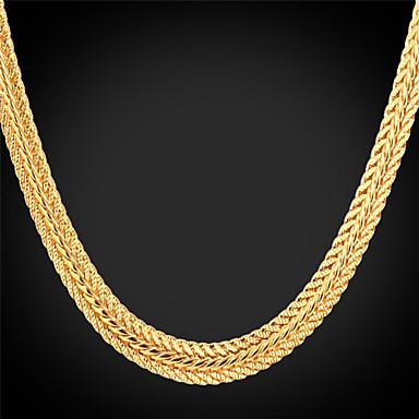 Damen vergoldet Halsketten Ketten  -  Modisch Silber Rose Golden Modische Halsketten Für Hochzeit Party Alltag