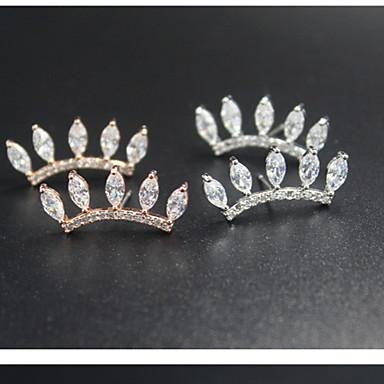 a szempillák tervezése gyémánt fülbevaló klasszikus női stílusban