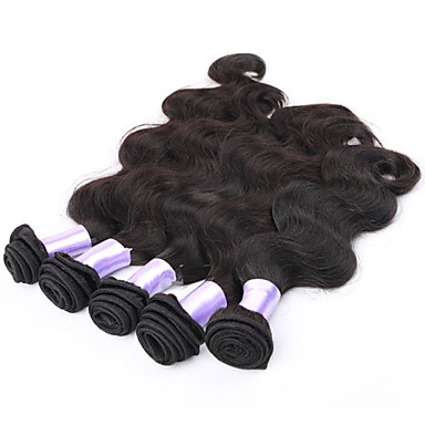 Бразильские волосы Естественные кудри Ткет человеческих волос 3 предмета 0.3