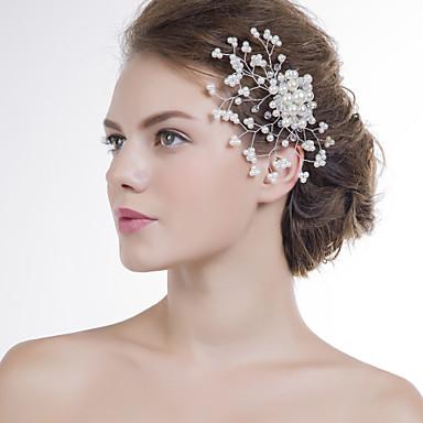 Femei Acrilic Diadema-Nuntă / Ocazie specială Piepteni de Păr 1 Bucată