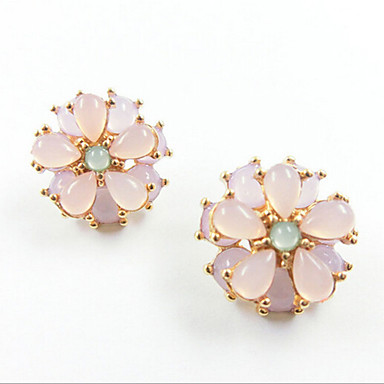 Σκουλαρίκι Κουμπωτά Σκουλαρίκια Κοσμήματα 2pcs Κράμα Γυναικεία Ασημί