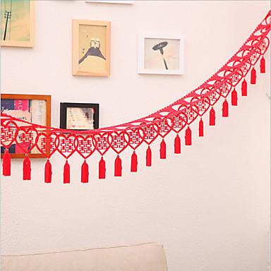 Couleur unie Organza Polyester Rubans de mariage-1/1 Pièce / Set