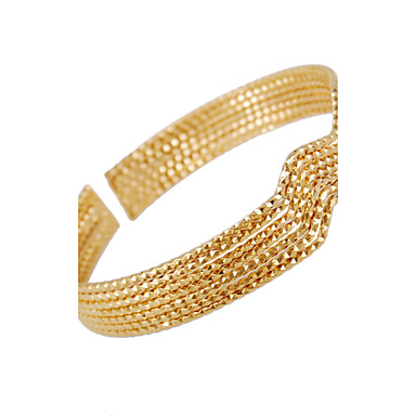 KU NIU Women's Fashion 18K Gold Plated Individuality Bracelet WSZ0005