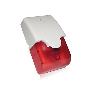 UV σειρήνα συναγερμού πρόληψη διαρρήκτης με strobe και πολύ ανθεκτικό περίβλημα ABS