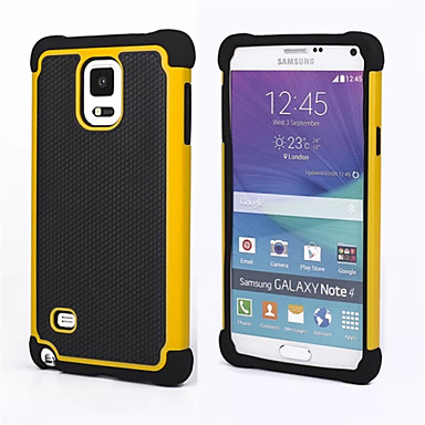 Için Samsung Galaxy Note Şoka Dayanıklı Pouzdro Arka Kılıf Pouzdro Zırh PC Samsung Note 4 / Note 3