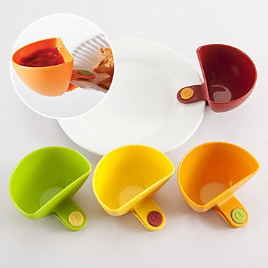 Küchenorganisation Netze & Halter Plastik Kreative Küche Gadget 4pcs