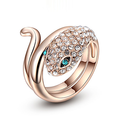 Women's Statement Rings Fashion Cubic Zirconia Alloy Jewelry Party