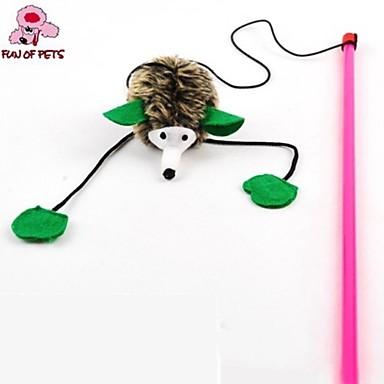 Cicajáték Játékok kisállatoknak Ugratások Toll játék Sündisznó Textil Háziállatok számára