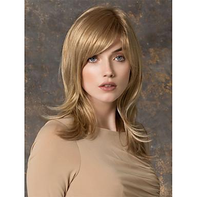 Yüksek kaliteli kapaksız uzun dalgalı mono üst bakire remy insan saçı peruk seçmek için 7 renk
