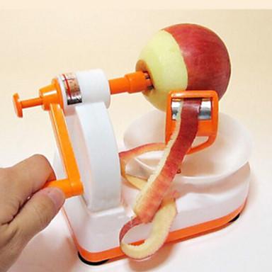 yüksek kaliteli yaratıcı manuel paslanmaz çelik elma soyma makinesi (renk rastgele)