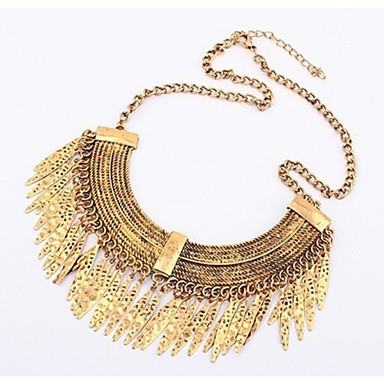 Women's Fashion Choker Necklace Alloy Choker Necklace , Party Daily Casual