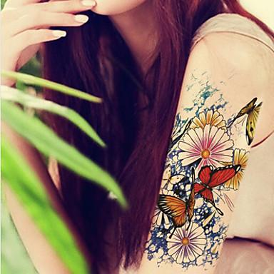 2016 υψηλής ποιότητας δημιουργική μόδα αδιάβροχο αστέρι λουλούδι πεταλούδα