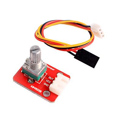 einstellbares Potentiometer-Modul für Arduino intelligentes Heimtextilien