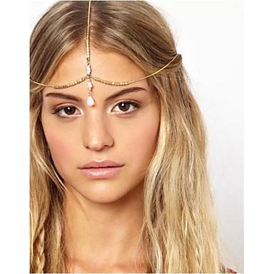 Γυναικείο Κράμα Headpiece-Γάμος / Ειδική Περίσταση / Υπαίθριο Αλυσίδα για το Κεφάλι 1 Τεμάχιο